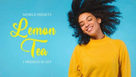 پریست لایت روم دسکتاپ و موبایل : تم لیمویی Lemon Tea Mobile Presets