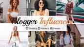 پریست لایت روم دسکتاپ و موبایل و کمرا راو : Blogger Influencer Preset Collection