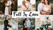 پریست لایت روم و Camera Raw و اکشن: Fall In Love Lightroom Presets Pack