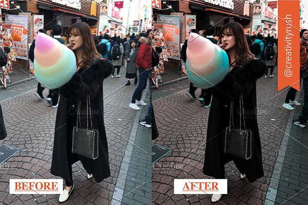 پریست لایت روم 6 عددی موبایل و دسکتاپ : Tokyo Streets Lightoom Presets