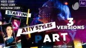 دانلود پروژه آماده افترافکت با موزیک : وله و تیتراژ The Music Party