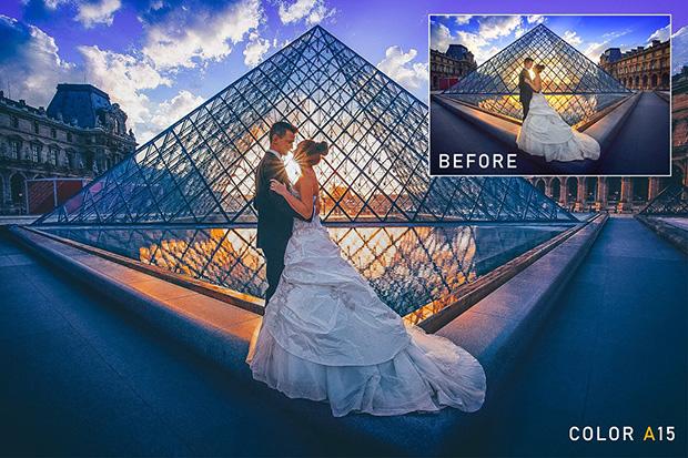 پریست لایت روم دسکتاپ و موبایل و کمرا راو : Love In Paris LR+DNG+ACR Presets