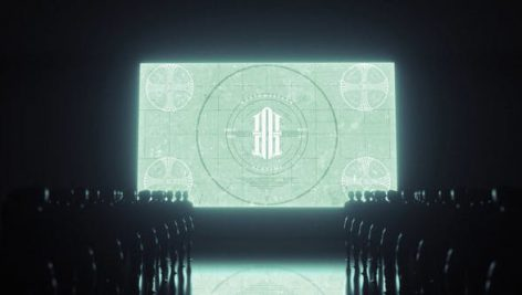 دانلود پروژه آماده افترافکت ۴K با موزیک : لوگو Stand by Logo Reveal