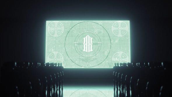 دانلود پروژه آماده افترافکت 4K با موزیک  لوگو Stand by Logo Reveal