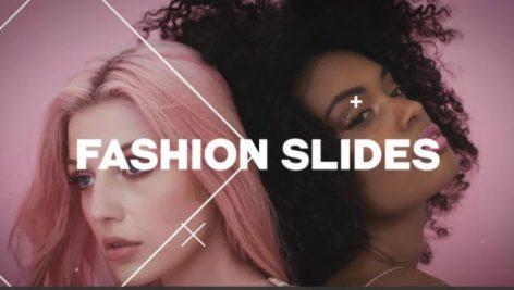 دانلود پروژه آماده پریمیر با موزیک اسلایدشو و تیتراژ Fashion Slides