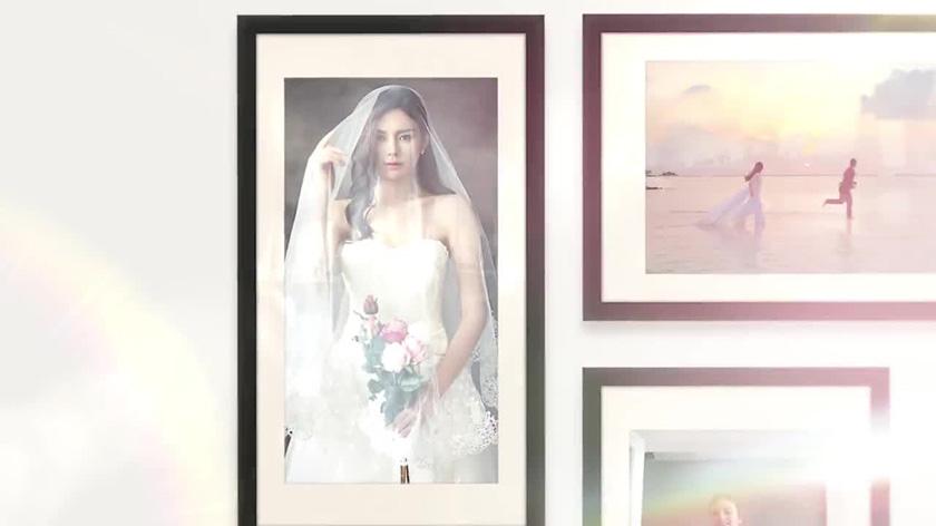 دانلود پروژه آماده پریمیر با موزیک  اسلایدشو Wedding Slideshow Photo Collage