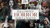 دانلود پریست لایت روم : جشن هالووین HORROR HALLOWEEN OAK PRESETS
