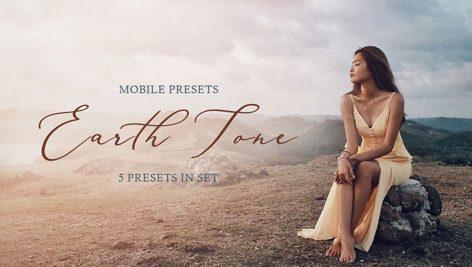 دانلود پریست لایت روم حرفه ای موبایل : Earth Tone Mobile Presets