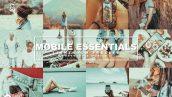 دانلود پریست لایت روم حرفه ای موبایل Mobile Essentials