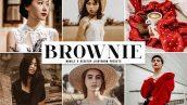 دانلود پریست لایت روم و Camera Raw و اکشن Brownie Mobile Desktop Lightroom Presets