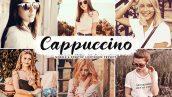 دانلود پریست لایت روم و Camera Raw و اکشن: Cappuccino Mobile Desktop Lightroom Presets