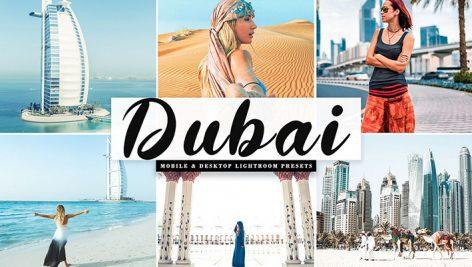دانلود پریست لایت روم و Camera Raw و اکشن Dubai Mobile Desktop Lightroom Presets