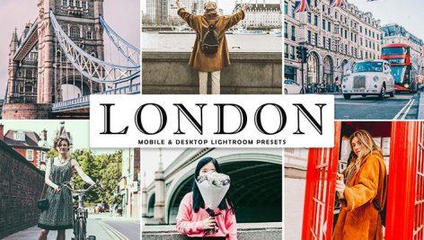 دانلود پریست لایت روم و Camera Raw و اکشن: London Mobile Desktop Lightroom