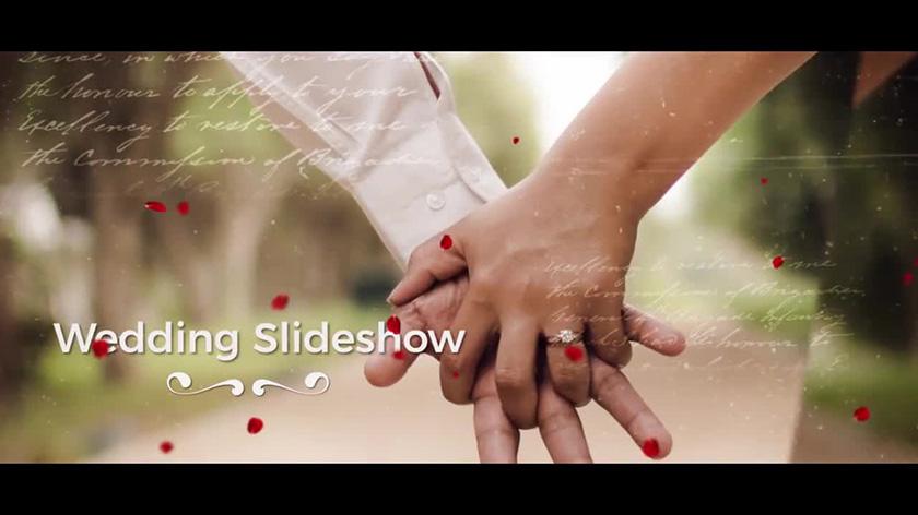 پروژه آماده پریمیر با موزیک  اسلایدشو عروسی Wedding Slideshow