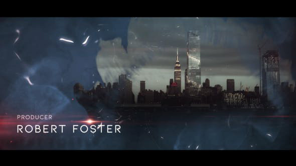 پروژه افترافکت با موزیک  تیتراژ سینمایی Cinematic Opener