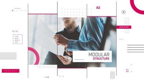 پروژه افترافکت با موزیک : معرفی شرکت Modern Corporate Promo