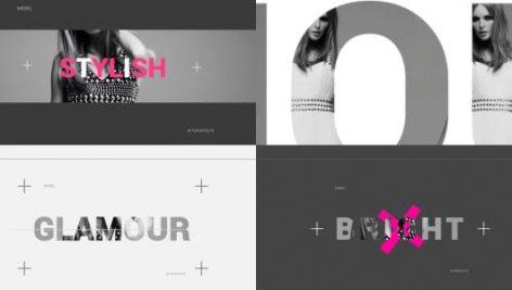 پروژه افترافکت با موزیک : وله اینترو و تیتراژ Fashion