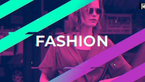 پروژه افترافکت با موزیک وله اینترو و تیتراژ Fashion Dynamic Opener