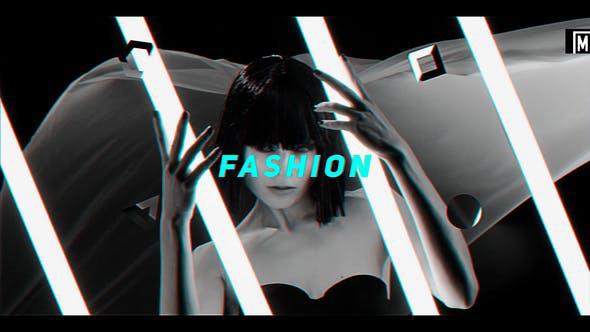 پروژه افترافکت با موزیک  وله اینترو و تیتراژ Hip Hop Fashion Promo