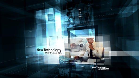 پروژه افترافکت حرفه ای با موزیک معرفی شرکت Contemporary Visual Technologies