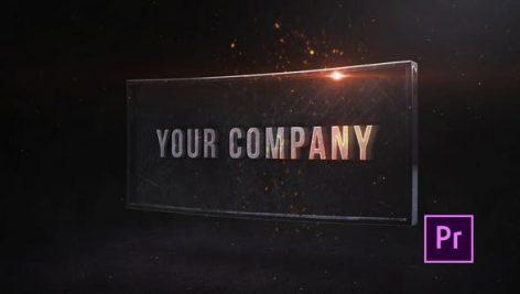 پروژه پریمیر با موزیک لوگو و آرم Industrial Impact Title Premiere Pro