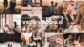 پریست لایت روم دسکتاپ و موبایل و کمرا راو ورژن 2 VSCO VSCO