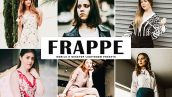 پریست لایت روم دسکتاپ و موبایل و کمرا راو Frappe Lightroom Presets Pack