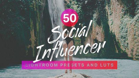 پریست لایت روم دسکتاپ و موبایل : Influencer Lightroom Presets LUTs