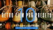 پریست لایت روم دسکتاپ و موبایل : Retro Film Pro Lightroom Presets