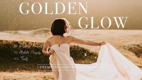 پریست لایت روم دسکتاپ و موبایل : Warm GOLDEN GLOW Lightroom Presets