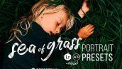 پریست لایت روم و Camera Raw و اکشن: Sea of Grass Portrait Presets