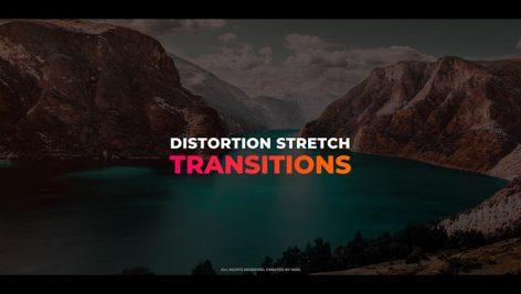 ترنزیشن پریمیر با افکت اعوجاج Distortion Stretch Transitions