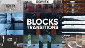 ترنزیشن پریمیر با افکت بلوک Blocks Transitions