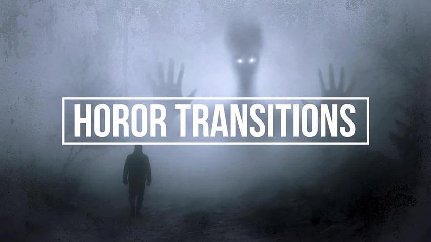 ترنزیشن پریمیر با افکت روح و ترسناک Horror Transitions