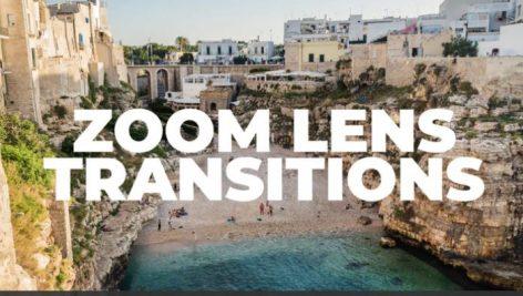 ترنزیشن پریمیر با افکت زوم لنز Zoom Lens Transitions