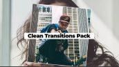 ترنزیشن پریمیر با افکت ملایم Clean Transitions Pack