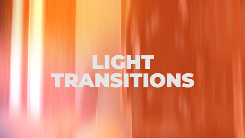دانلود ترنزیشن پریمیر با افکت نوری Light Transitions