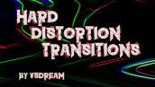 دانلود ترنزیشن پریمیر با افکت پاشیدگی قوی Hard Distortion Transitions