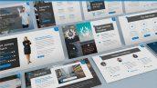 دانلود قالب آماده پاورپوینت تم تجارت Cullaca Forecast Powerpoint Template