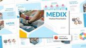 دانلود قالب آماده پاورپوینت تم پزشکی MEDIX Medical PowerPoint Template