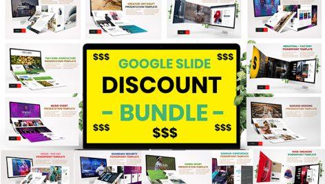 دانلود مجموعه 400 قالب پاورپوینت Bundles Vol 1 Google Slide Template