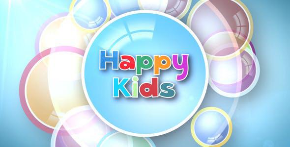 دانلود پروژه آماده افترافکت با موزیک  اسلایدشو کودک Kids Intro