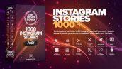 دانلود پروژه افترافکت 1000 استوری اینستاگرام Instagram Stories Pack