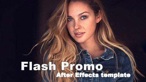 پروژه آماده افترافکت با رزولوشن ۴K : تیتراژ Flash Promo