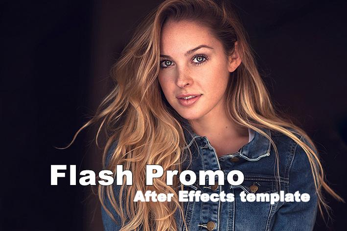 پروژه آماده پریمیر با رزولوشن 4K تیتراژ Flash Promo