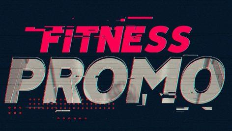 پروژه آماده پریمیر با موزیک : تیتراژ ورزشی Fitness Promo