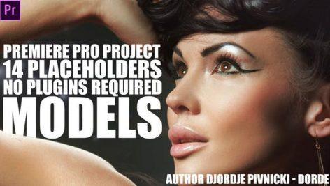 پروژه آماده پریمیر با موزیک : تیتراژ و وله اسپرت Models Premiere Pro