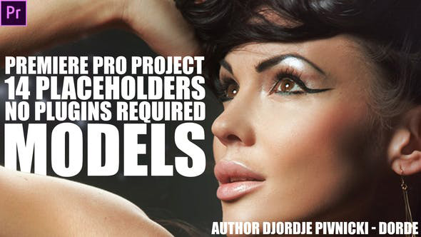 پروژه آماده پریمیر با موزیک تیتراژ و وله اسپرت Models Premiere Pro