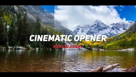 پروژه آماده پریمیر با موزیک تیتراژ و وله سینمایی Cinematic Opener