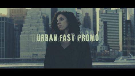 پروژه آماده پریمیر با موزیک : تیتراژ و وله سینمایی Urban Fast Promo